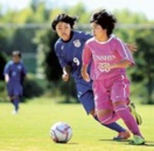 高校サッカー 順心5連覇 全日本女子静岡県大会