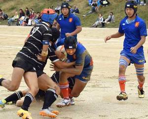 伏見工・京都工学院、京都成章など8強 高校ラグビー京都府予選