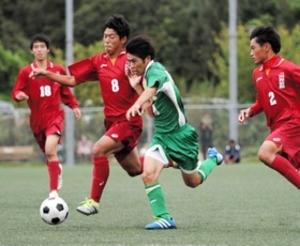 県西宮、8ゴールで大勝 兵庫県高校サッカー