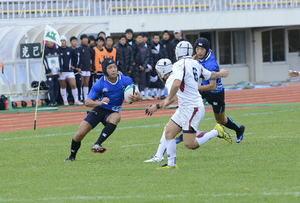 八戸工、初の決勝 全国高校ラグビー青森県予選