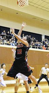 女子・郡山商2年ぶり優勝、悔しさばね「壁」超える 福島県選抜高校バスケ