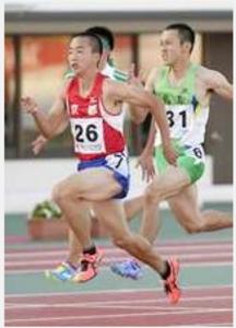 17歳宮本、先輩桐生追う 陸上男子100で高校2冠