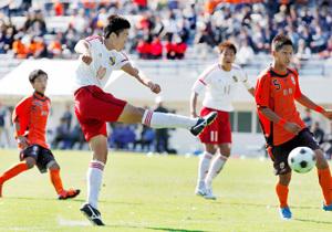 高校サッカー愛媛県予選 決勝 松山工vs松山北