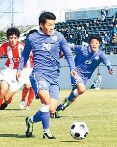富山第一VS水橋 富山県高校サッカー、5日決勝