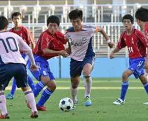 矢板中央、準決勝で敗退 全国高校サッカー栃木大会