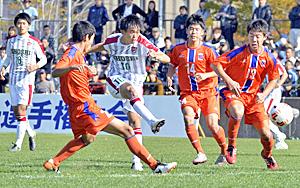 尚志が3連覇、全国大会に出場へ 福島県高校サッカー