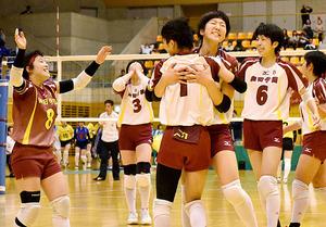 全国高校バレー 埼玉大会は男子・埼玉栄、女子・細田学園
