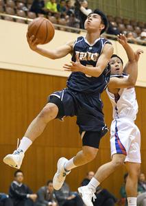洛南が大勝、全国選抜へ 全国高校バスケ