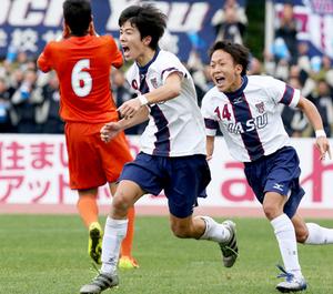 野洲が逆転し2連覇 全国高校サッカー滋賀県大会