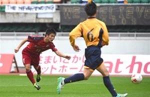浜松開誠館、全国またも「あと一歩」 高校サッカー静岡大会