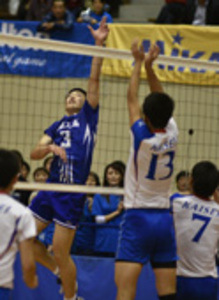 高校バレー 三重県 男子は松阪工2連覇