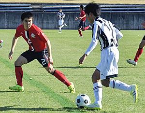 郡山商など2回戦進出 福島県高校新人サッカー