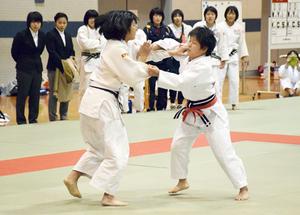 男子は京都学園、女子は京都文教 京都府高校柔道