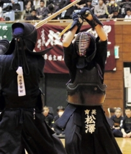 剣道・兵庫県高校新人大会V 育英1年榊原6戦全勝