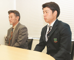 高校サッカー 「中京らしい攻め」誓う 赤堀主将