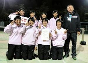 全日本選抜ソフトテニス九州地区予選 女子清和が全国へ