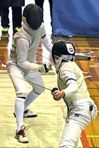 男子フルーレ、大垣南優勝 東海高校選抜フェンシング