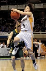 神戸龍谷、強豪に力負け 全国高校選抜バスケ