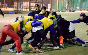 京都成章、運動量が攻守支え 全国高校ラグビー27日開幕