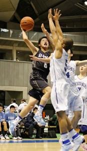 日本航空挑戦4度、また高い壁 高校バスケ