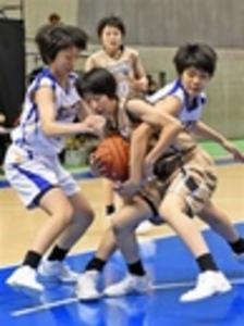 女子・開誠館、強豪就実を撃破 全国高校選抜バスケ