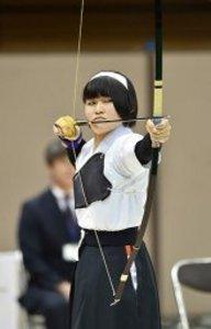 秋田(倉吉西)6位、初入賞 高校選抜弓道