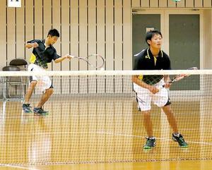 男子簗田・大村組、女子森・伊藤組V ソフトテニス愛媛予選