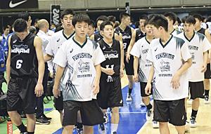 福島南、初戦敗退 高校バスケ・ウインターカップ