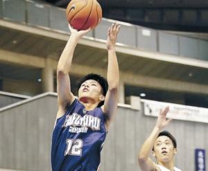 北陸学院、初の8強 高校選抜バスケット