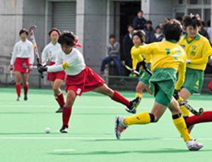 岐阜各務野が決勝進出 全国高校ホッケーチャンピオンズ杯