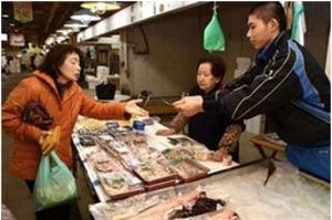 秋田工野球部員ら、市場で就業体験 厳しさや喜び実感