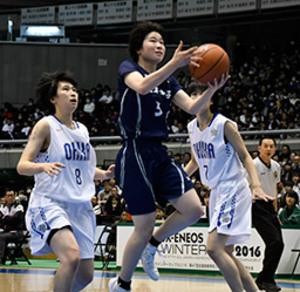【速報】岐阜女、準優勝 全国高校選抜バスケ