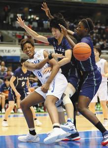 高校バスケ 女子は桜花が3冠 高校総体、国体、選抜