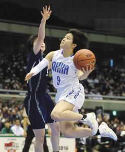 司令塔・山本、攻める意思示す 高校バスケ女子Vの桜花学園