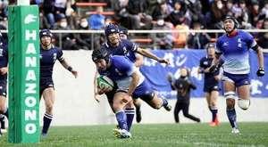 尾道大勝2回戦へ 山口69大会ぶり白星 全国高校ラグビー