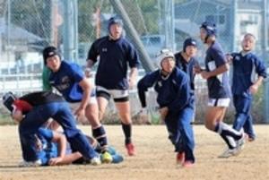 浜松工、東福岡戦へ闘志 全国高校ラグビー
