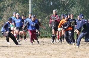新潟工「自分たちのラグビーを」 全国高校ラグビー 30日に2回戦