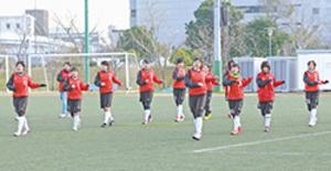 全国高校女子サッカー 大谷室蘭きょう大商学園戦