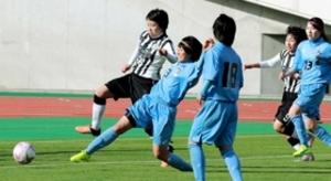 北須磨、最後まで全力 全国高校女子サッカー