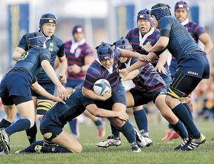 航空石川3回戦進出 全国高校ラグビー、引き分け抽選で