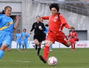 神村学園8強入り 全国高校女子サッカー