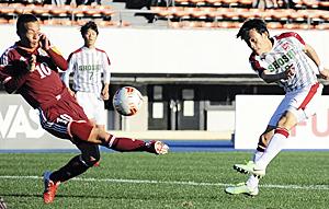 尚志・常盤の職人技光る、成長見せた2アシスト 全国高校サッカー