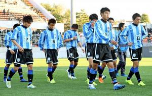 鵬翔初戦で敗退、青森山田に0-5 全国高校サッカー
