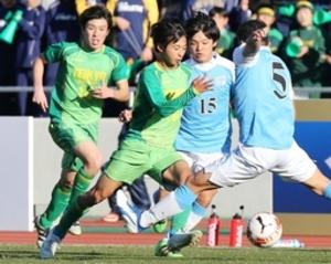 帝京長岡、徳島市立に惜敗  全国高校サッカー