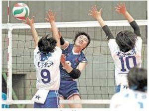 バレーボール 女子は米沢中央など突破