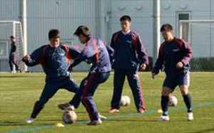 佐野日大、軽めの調整 全国高校サッカー、7日準決勝