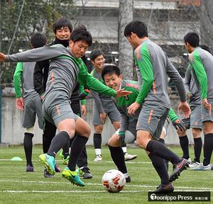 悲願へあと1勝、青森山田が最終調整 全国高校サッカー