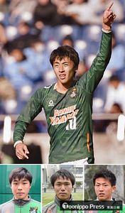 青森山田地元7選手、全国高校サッカー初Vへ闘志