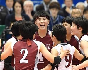 黒後、春高バレーVに貢献 女子東京代表・下北沢成徳