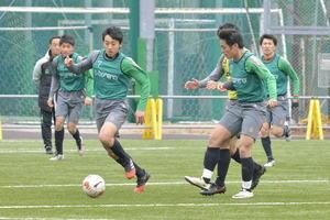 青森山田、決勝控え最終調整に汗 全国高校サッカー